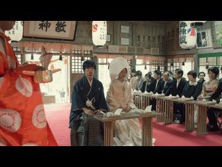 Очень красивый ролик про традиционную свадьбу в Японии
