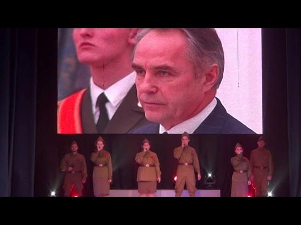 Дмитров, концерт посвященный 77 годовщине битвы под Москвой