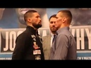 TONY BELLEW v MATEUSZ MATERNAK - HEAD TO HEAD @ FINAL PRESS CONFERENCE / BAD INTENTIONS