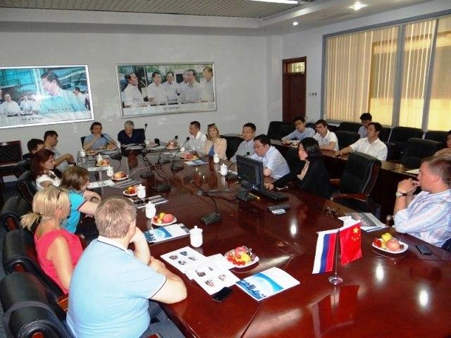 Презентация китайского завода (Пекин) перед делегацией из Москвы | Ассоциация предпринимателей Китая