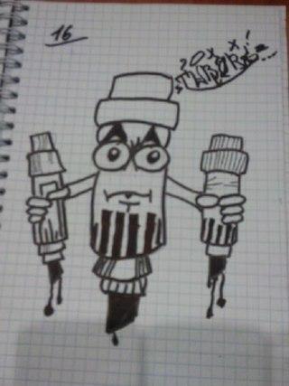 граффити обучение на бумаге | ВКонтакте