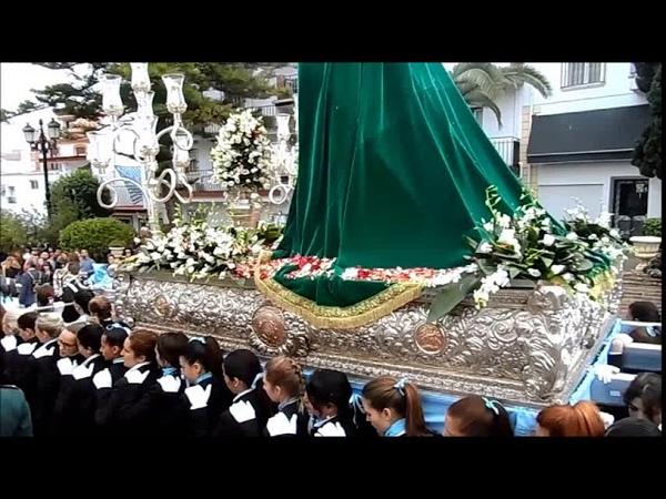 Domingo de Ramos 2018 Maria Santisima de la ESPERANZA Pollinica ALHAURIN dela TORRE 25 03