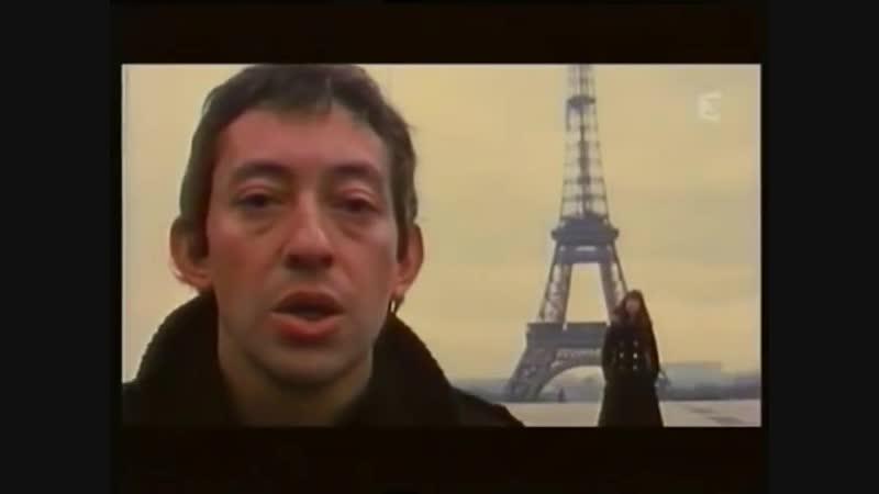 Serge Gainsbourg Jane Birkin - Je taime... moi non plus_⁄Original videoclip (Fontana 1969)