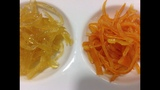 How to Candied Orange and Lemon Zest (