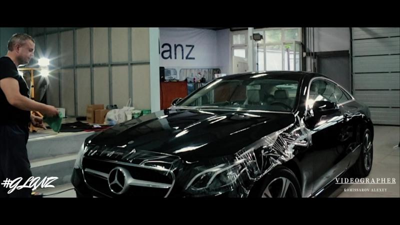 E200 Coupe | Автомобиль Влада Снака | Покрытие антигравийной пленкой