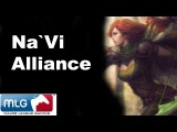 Na`Vi vs Alliance Roshan Steal - MLG Dota 2
