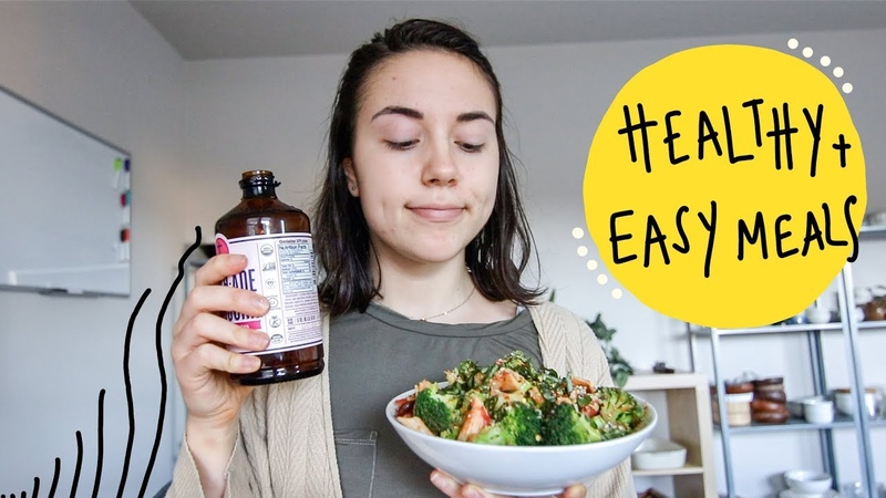What I Eat in a Day to GET SH*T DONE! (Vegan)