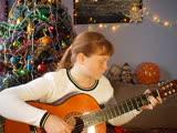 Новогодняя мелодия на гитаре