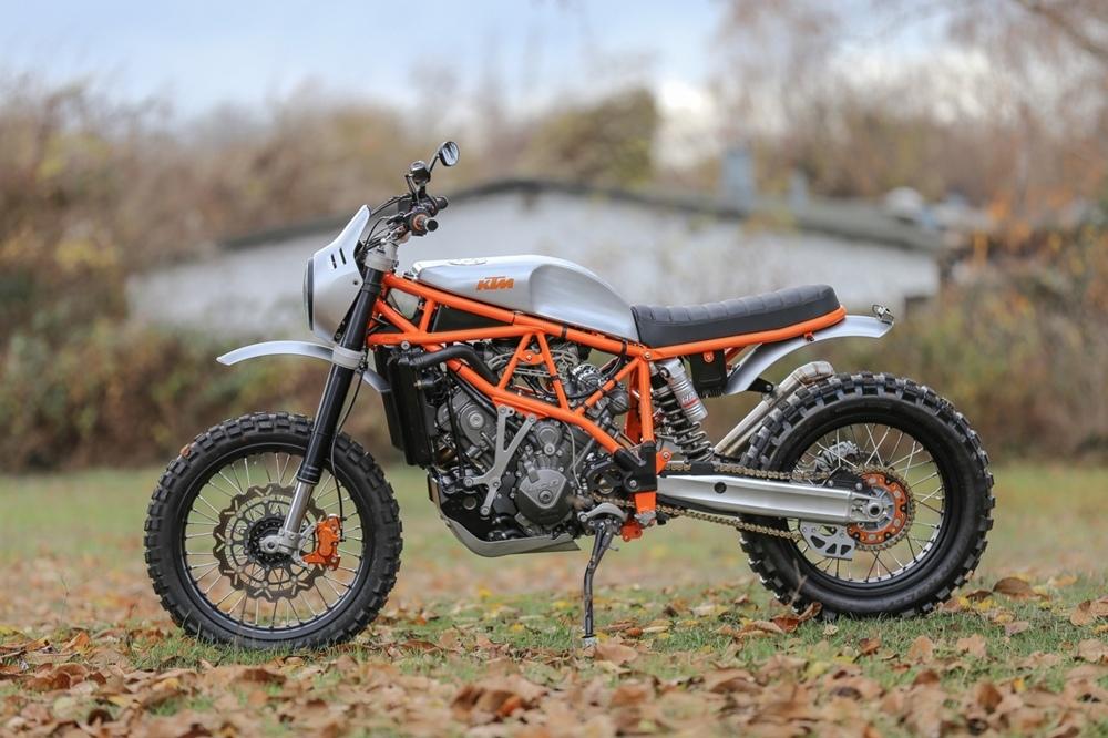 Sport-Evolution Garage: кастом KTM 950SE