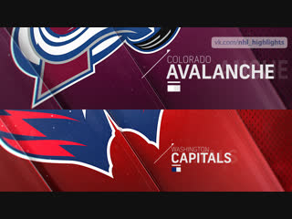 Colorado Avalanche vs Washington Capitals Feb 7, 2019 HIGHLIGHTS HD
