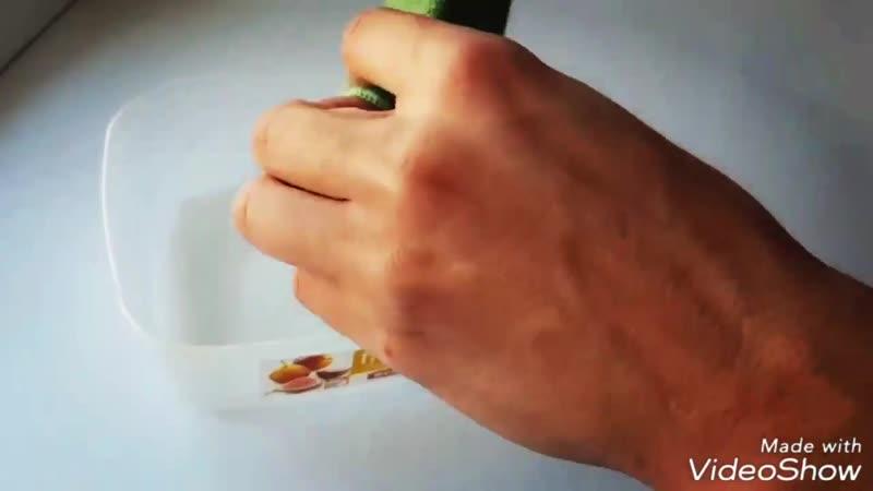 Как отмыть жирную посуду без химии САЛФЕТКА AQUAMAGIC ABSOLUTE ДЛЯ МЫТЬЯ ПОСУДЫ