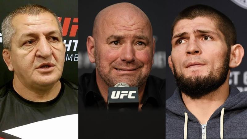 Убытки UFC из-за отстранения Нурмагомедова, отец Хабиба о его следующих соперниках