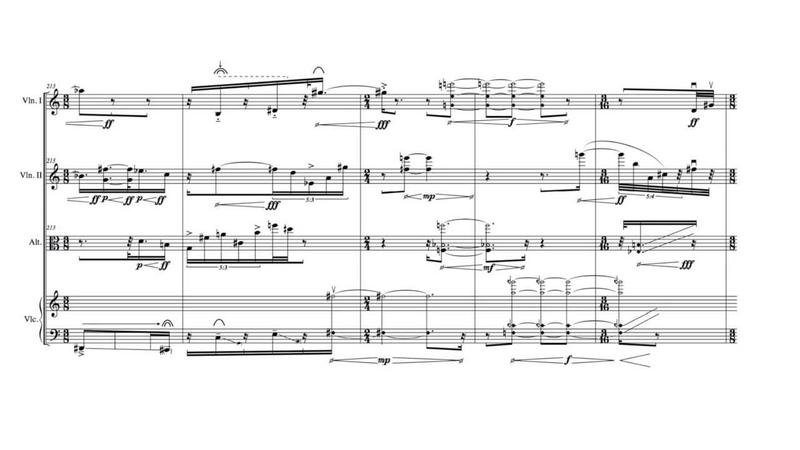 Nicolas Tzortzis - Femme-tête-temps [w/ score]