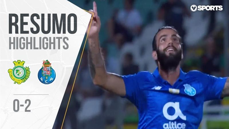 Highlights   Resumo V. Setúbal 0-2 FC Porto (Liga 1819 5)