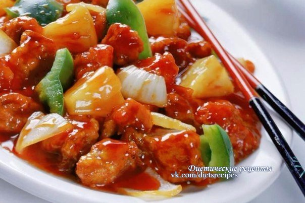 овощи в кисло сладком соусе рецепт с фото