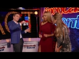 Illusionist Adam Trent Wows Heidi Klum and Tyra Banks - Americas Got Talent 2018