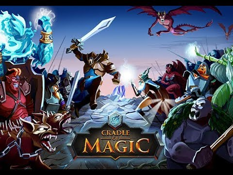 Cradle of Magic android game first look gameplay español