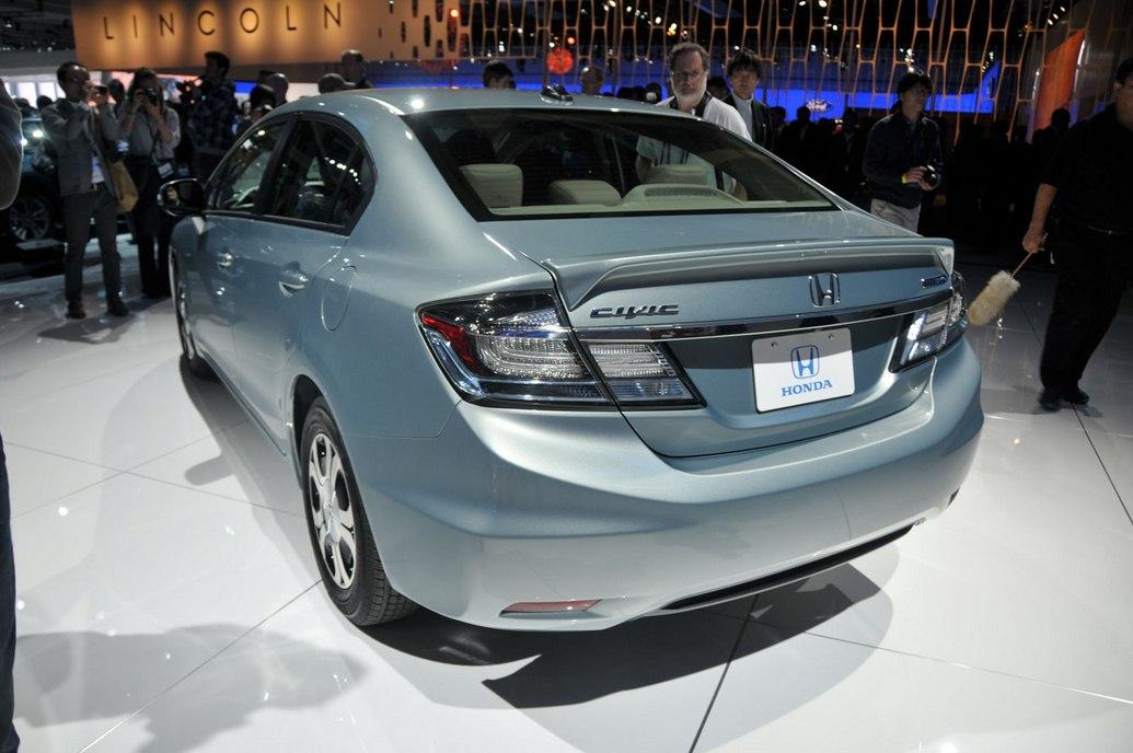 Задние фары Civic 5D 2013