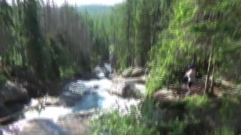 Студеновские водопады. Штребско плесо. Словакия 2016-yuklip-scscscrp