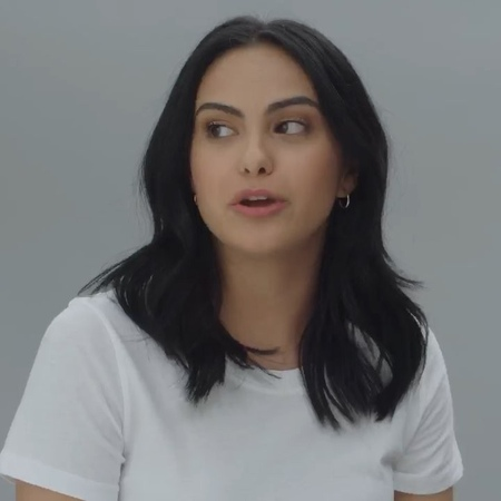 """Camila mendes on Instagram: """"washing my hair every day isn't an option with my schedule, so a reliable second-day hair routine is essential! luckil..."""