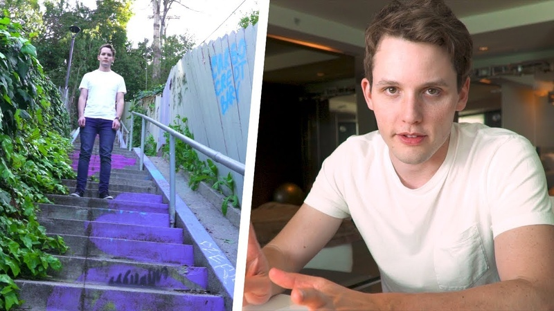 Filming a Jumping Stairs Effect w/ Kyle Huber