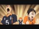 Haikyuu!! Tanaka and Nishinoya