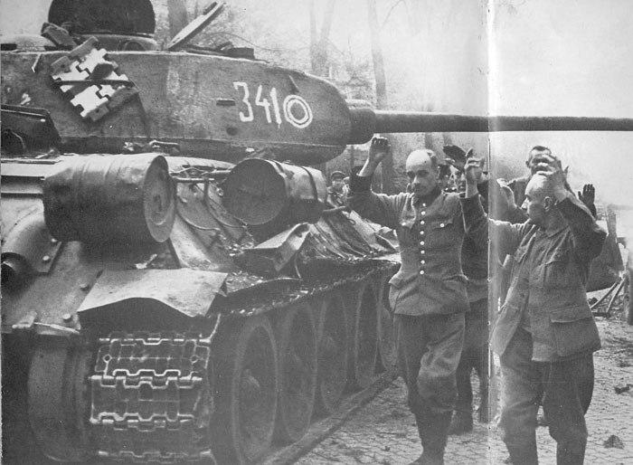 Т-34-85 № 341