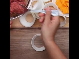 Луковые кольца с мясом kerjdst rjkmwf c vzcjv