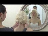 Свадебная ретро прическа. Голливудские волны