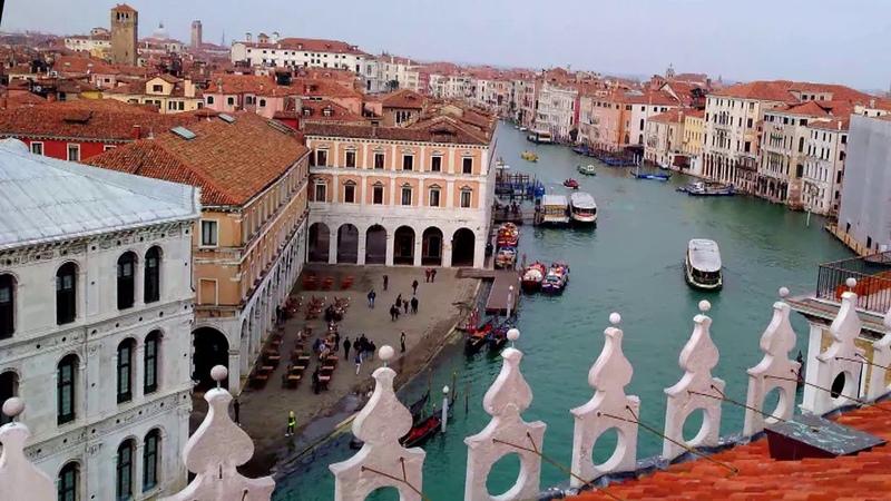 Венеция весной Роскошные виды с высоты птичьего полета
