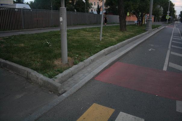 Велодорожный переход.  21 июля 2018