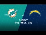 Week 10 Game Preview Dolphins - Chargers