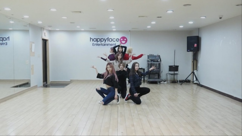 Dreamcatcher(드림캐쳐) PIRI Dance Video(연습실 ver.)