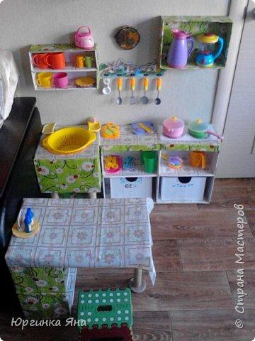 Детская кухня из картонных коробок : Идея для вдохновения… (9 фото) - картинка