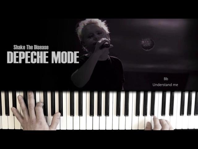 Depeche Mode Shake The Disease Piano Cover СТРЯХНИ БОЛЕЗНЬ