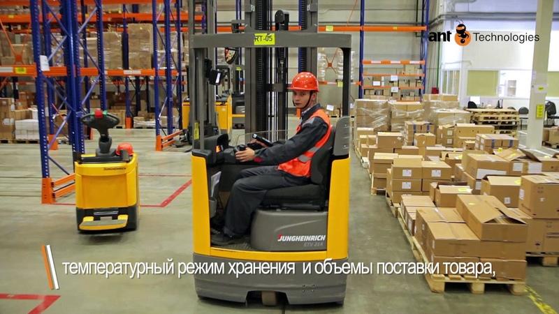 Внедрение WMS Logistics Vision Suite на складе Авеста Фармацевтика