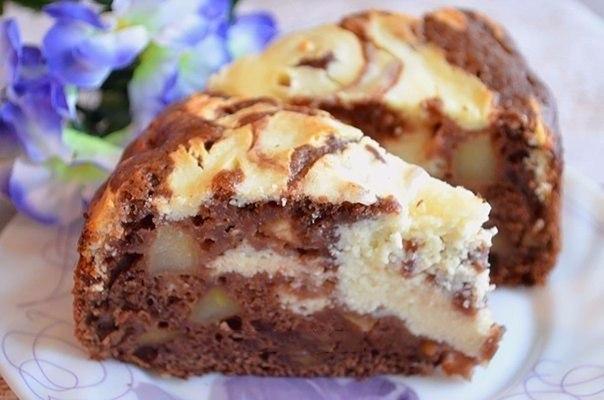 Пироги с творогом и яблоками рецепты с