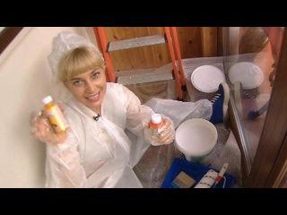 Блондинка красит стены - Доброе утро - Первый канал