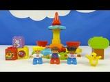 Строим из Lego Duplo, Unboxing, LEGO DUPLO 10845 My First Carousel - Моя первая карусель
