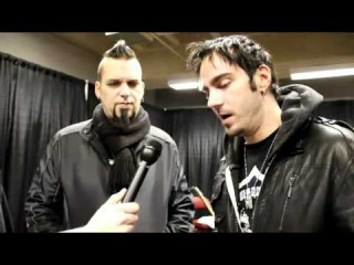 Three Days Grace Interview  Barry & Adam