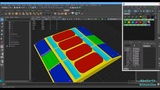 Baking Color ID Map in Maya