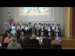 Песня Катюша. 2б класс Школа 130. Танцоры Сергей Г.и Карина М.