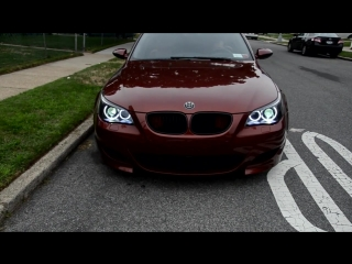 BMW M5 e60 by Color Indianapolis Red MPower