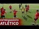 Entrenamiento completo del Atlético de Madrid Diario AS