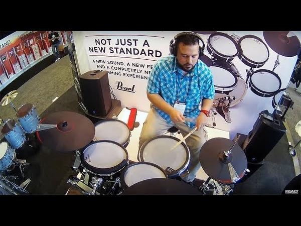Summer NAMM 2018 - Pearl eMERGE Electronic Drum Kit MORE PLAYING