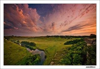 Долина реки воргол с 12 по 15 июня в