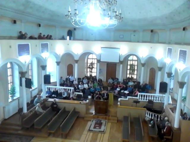 Євангеліє в 21 столітті Проповідь пастора Едварда з Канади MOV 0316