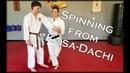 Waza Wednesday 12/12/18 - Bunkai Concept: Spinning From Kosa-Dachi