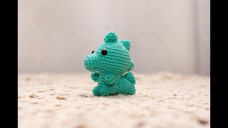 Amigurumi | como hacer un dinosaurio en crochet | Parte 1 | Bibi Crochet 2018