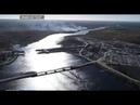 Строительство Белопорожских ГЭС в разгаре